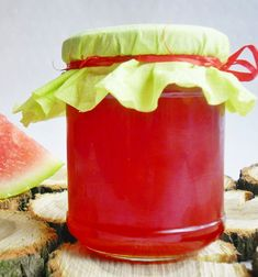 Preserves, Watermelon, Food And Drink, Treats, Homemade, Fruit, Drinks, Healthy, Recipes