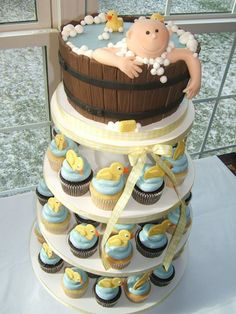 1000 images about baby shower ideas on pinterest duck cupcakes lion cupcakes and pacifier. Black Bedroom Furniture Sets. Home Design Ideas