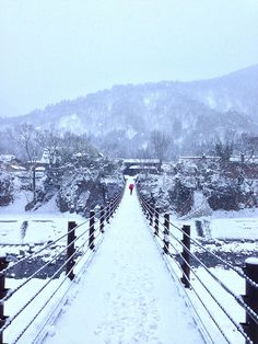 morning at shirakawago gifu Japan.