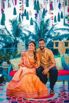 Looks like 2017 was the year of cricketer weddings! So Hardik Pandya's brother, who also happens to be a cricketer got married recently, and it looked like such a fun affair! Not only did it look like. India Cricket Team, Cricket Sport, Cricket Wedding, Players Wives, Mumbai Indians, Biographies, Mehndi, Got Married, Indian Fashion