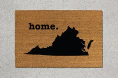 Virginia Home Door Mat - $39