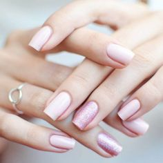 Nude Nails Designs For A Classy Look ★ See more: http://glaminati.com/nude-nails/