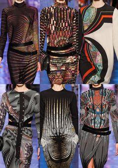 Milan Fashion Week   Autumn/Winter 2013/14   Print & Pattern Highlights   Part 1 catwalks