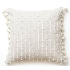 Home Decorative Throw Pillow, Wool woven pillow, Weave cushion tapestry, White decor room, Chunky pi - Emilia Fleming Boho Throw Pillows, Euro Pillows, Yellow Throw Pillows, White Pillows, Accent Pillows, Floor Pillows, Oversized Throw Pillows, Cream Pillows, Knot Pillow