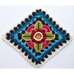Mexican Diamonds Blanket kit by Jane Crowfoot using Stylecraft Life DK