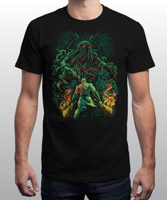 Clash of the Old Gods: qwertee.com