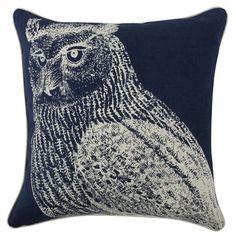Thomas Paul The Resort Owl Cotton Pillow Cover & Reviews | Wayfair