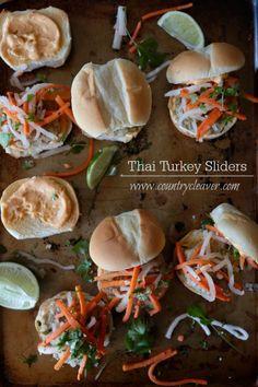 Thai Turkey Sliders