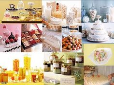 Wedding, Pink, Green, Blue, Yellow, Inspiration, Candy, Board
