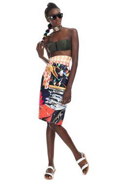 Mary Katrantzou: Dandelion Skirt-want!