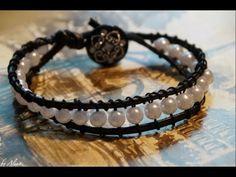 DIY: wrap bracelet / Крученый браслет своими руками - YouTube