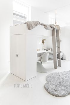 How you can Discover The Very Best Loft Beds For Kids – Bunk Beds for Kids Tiny Bedroom Design, Bed Furniture Design, Small Appartment, Unicorn Room Decor, Kids Bedroom Furniture, Bedroom Loft, Loft Bed, Kid Beds, Dream Rooms