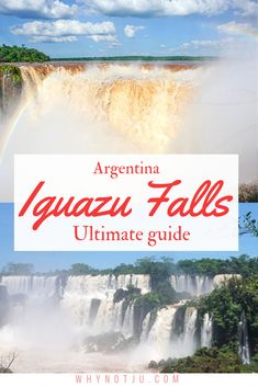 The ultimate guide to visiting Iguazu falls Argentina. But also general info about the area, the Iguazu waterfalls and the tripple border. Europe Travel Tips, Packing Tips For Travel, Europe Packing, Traveling Europe, Backpacking Europe, Packing Lists, Travel Hacks, Travel Essentials, Budget Travel