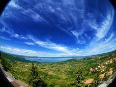 Tutto il bacino del Lago.   © Tuscia Fotografia