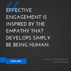 Marketing quote from Brian Solis