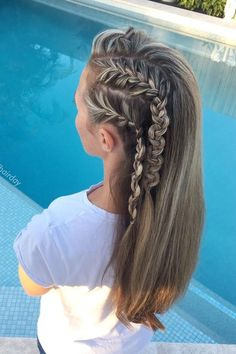 Side Snake Braid Hairstyle ❤  #lovehairstyles #hair #hairstyles #haircuts