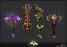 ArtStation - Legion Artifact Weapons, Calvin Boice