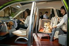 This is the interior of Honda's Japan exclusive the 2005 Wonderful Open Hearted Wagon! Yes that's it's real name...