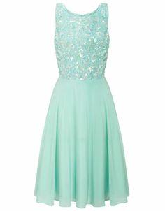 Taylor Prom Dress | Blue | Monsoon