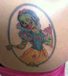 Zombie Snow White.