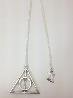 Harry Potter Deathly Hallows necklace - $7!