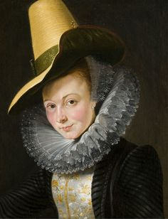 The Athenaeum - Portrait of Isabella Brandt (Peter Paul Rubens - )