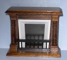 VICTORIAN FIREPLACE DOLLHOUSE FURNITURE