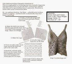 FATIMA CROCHET: Camisole Exercise No. 1