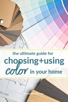 Color is the best way to create a cohesive look in your home. These color tips will have you choosing and using colors you love throughout your home. #color #wallcolor #neutralcolor #boldcolor #colortips #interiordesign #decoratingtips #decorating #decor #homedecor #paint #paintingtips #paintingtutorials #colorpalette