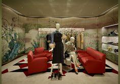 """Auch nach der Pariser Modewoche bleiben die """"Graphic Rooms"""" bestehen. (Foto: Courtesy of Prada)"""