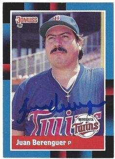 Juan Berenguer AUTOGRAPHED Baseball by FloridaFindersSports