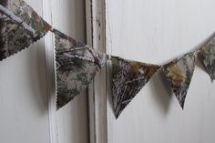Your place to buy and sell all things handmade Camo Birthday, Hunting Birthday, Hunting Baby Showers, Camo Cakes, Baby Shower Camo, Triangle Banner, Cake Banner, Camo Baby Stuff, High Chair Banner