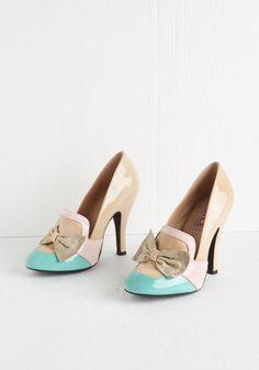 Spring is in the Aria Heel   Mod Retro Vintage Heels   ModCloth.com