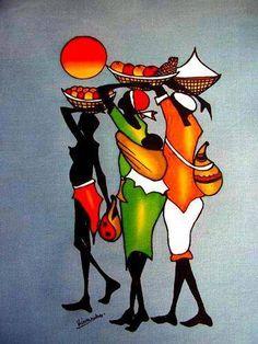 Pinturas Africanas - Geledés
