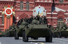Victory Celebration in Moscow