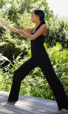 Tai Chi Exercise Pose
