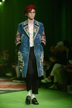 Gucci spring 2017 menswear | Gucci Men's SS17 Fashion Show: Top 12 Best Looks : Fashion : Fashion ...