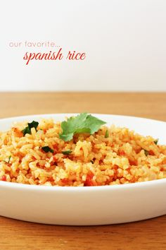 Isn't it strange how Mexican restaurants all over the country consistently make delicious spanish rice,