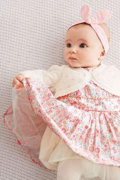 Kup online dziś w Next: Polska Trzy-częściowy komplet z sukienką (0-18 m-cy)