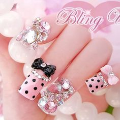 3d bling nails | Japanese 3D Nail Art (8 Pictures) | Nail Art Ideas BlogNail Art Ideas ...
