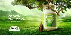 Heinz Veggie Mayo on Behance