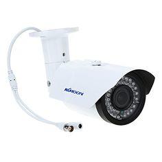 """Nuova offerta in #pc : KKmoon TP-W225BK Telecamera Videosorveglianza CCTV Camera 2.8-12mm 1200TVL 1/3"""" SONY 42IR Impermeabile Esterna Varifocale a soli 36.79 EUR. Affrettati! hai tempo solo fino a 2016-10-05 23:44:00"""