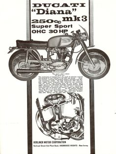Ducati 250 Diana Mk3