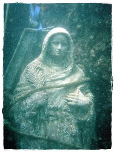 """Costaleros de Oviedo: La Virgen de la Palma """"Romería Marítima"""", procesión desde el fondo del mar"""