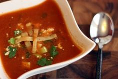 Pastor Tom's Tortilla Soup