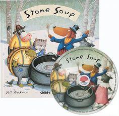 Stone Soup (Flip-Up Fairy Tales) by Jess Stockham http://www.amazon.com/dp/1846430941/ref=cm_sw_r_pi_dp_Labtwb0XS9A7X