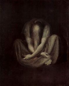"""""""Solitude"""" by Henri Fuseli"""