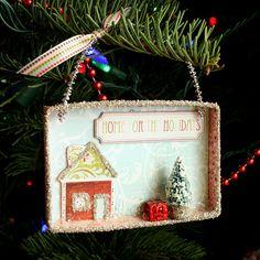 Mini Christmas Shadow Boxes