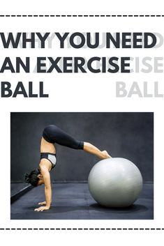 An exercise ball can be used for more than just a funky desk chair. Find out why you should have one in your fitness life. Fitness Life, You Fitness, Health Fitness, Muscles In Your Body, Core Muscles, Thigh Master, Stability Ball Exercises, Weight Benches, Exercise Ball