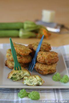 Frittelle di zucchine e pecorino   La cucina di Reginé ☼